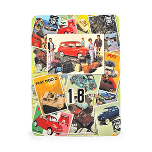 Calendario perpetuo Fiat 500 - mix - That's Italia