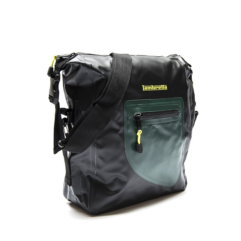 Borsa messenger Lambretta waterproof - nero