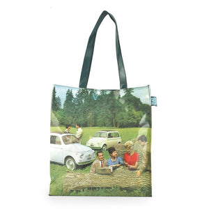 Shopper Fiat 500 in PVC - prato