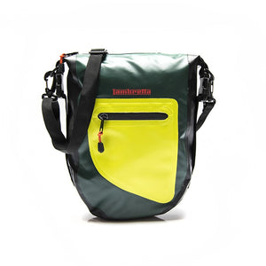Borsello Lambretta waterproof - verde - That's Italia