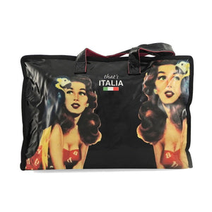 Borsa donna pin up That's Italia - nera