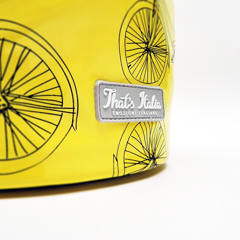 Cestino da bici That's Italia - giallo - That's Italia