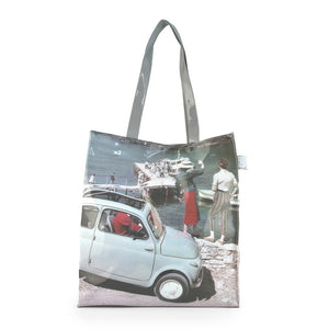 Shopper Fiat 500 in PVC - molo - That's Italia