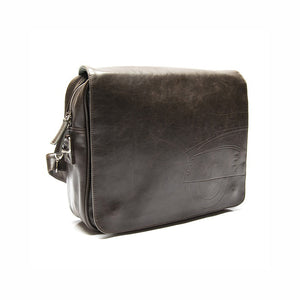 Borsa messenger Lambretta similpelle - marrone - That's Italia