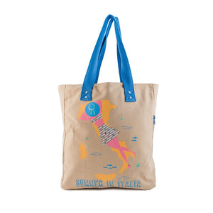 Borsa donna in canvas That's Italia - summer in Italia