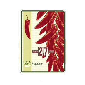 Calendario perpetuo That's Italia - chili pepper