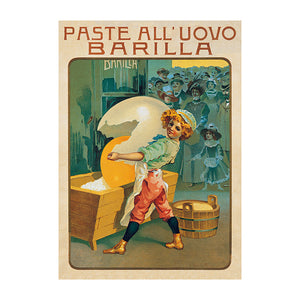 Poster Barilla - paste all'uovo