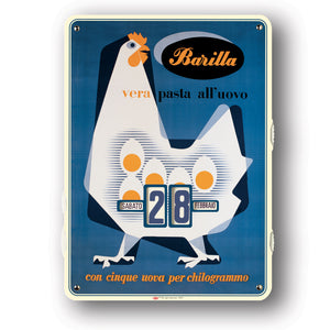 Calendario perpetuo Barilla - gallina - That's Italia
