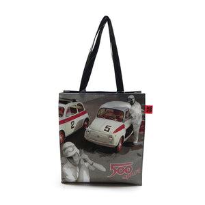 Shopper Fiat 500 in PVC - sport
