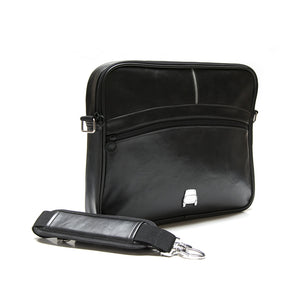 Borsa messenger Fiat 500 in similpelle - nera