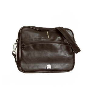 Borsa messenger Fiat 500 in similpelle - marrone - That's Italia