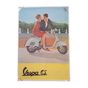 Manifesto originale Vespa GS – 70x100cm - That's Italia