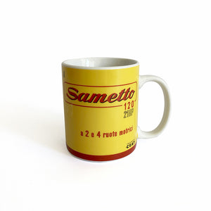 Tazza SAME - Sametto 120, 1960 - That's Italia