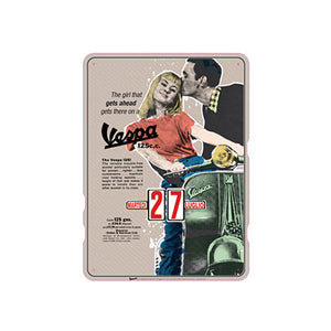 Calendario perpetuo Vespa - the girl that...