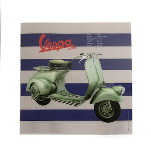 Poster Vespa in plexiglass - 125 1948