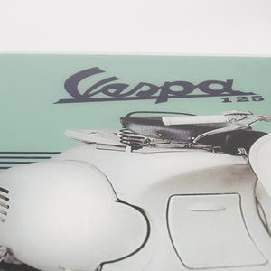 Poster Vespa in plexiglass - 125 1953