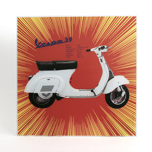 Poster Vespa in plexiglass - 50 1964