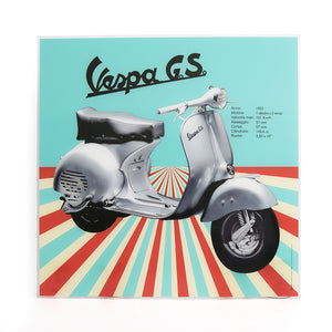 Poster Vespa in plexiglass - GS 1955