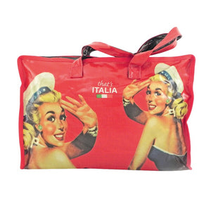 Borsa donna pin up That's Italia - rossa