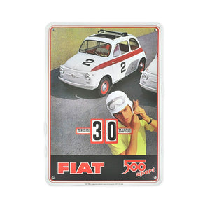 Calendario perpetuo Fiat 500 - sport - That's Italia