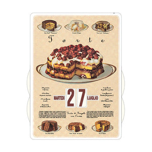 Calendario Perpetuo That's Italia - torte