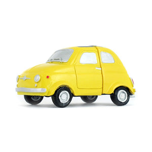 Portafoto in resina Fiat 500 - giallo - That's Italia
