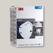 Load image into Gallery viewer, 3M FFP2 Valved Disposable Respirator (10 per Pack)