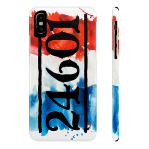 24601 Jean Valjean (Les Miserables) - Case Mate Slim Phone Cases Iphone X Slim Phone Case