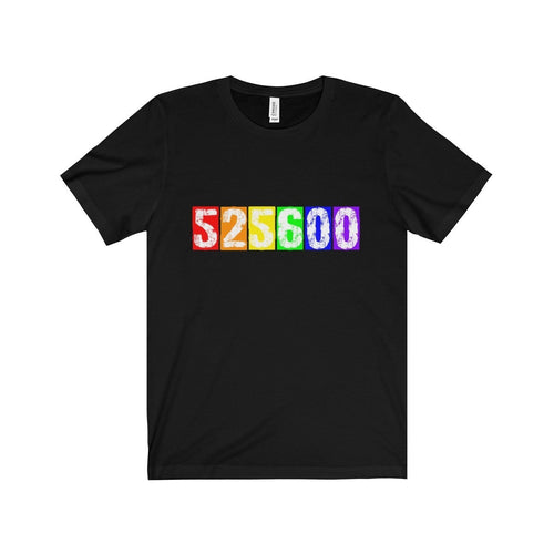 525 600 (Rent) - Unisex Jersey Short Sleeve Tee Black / Xs T-Shirt