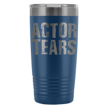 Actor Tears - 20Oz Stainless Steel Insulated Tumblers Blue Tumblers