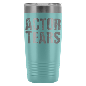 Actor Tears - 20Oz Stainless Steel Insulated Tumblers Light Blue Tumblers