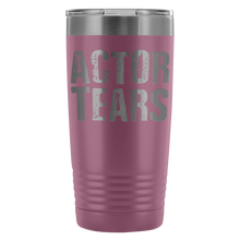 Actor Tears - 20Oz Stainless Steel Insulated Tumblers Light Purple Tumblers