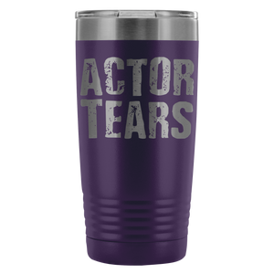 Actor Tears - 20Oz Stainless Steel Insulated Tumblers Purple Tumblers