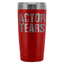 Actor Tears - 20Oz Stainless Steel Insulated Tumblers Red Tumblers