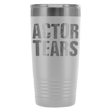 Actor Tears - 20Oz Stainless Steel Insulated Tumblers White Tumblers