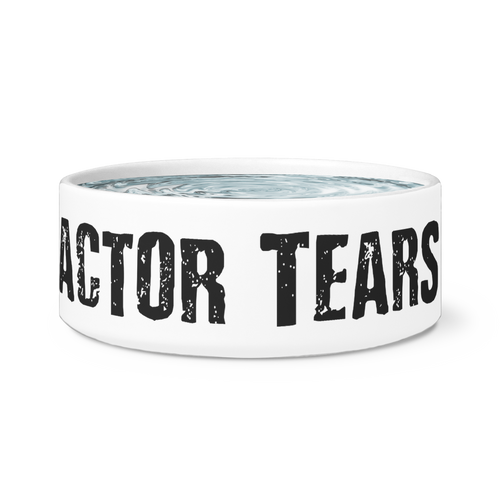 Actor Tears - Dog And Cat Water And Food Bowl Actor Tears Dog Bowls