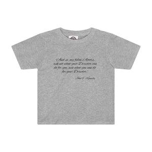 Ask Not What Your Director Can Do For You - Kids Tee Athletic Heather / 2T Clothes