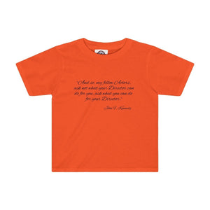 Ask Not What Your Director Can Do For You - Kids Tee Orange / 2T Clothes