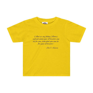 Ask Not What Your Director Can Do For You - Kids Tee Sunflower / 2T Clothes