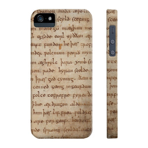 Beowulf - Case Mate Slim Phone Cases Iphone 5/5S/5Se