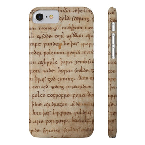 Beowulf - Case Mate Slim Phone Cases Iphone 7 8