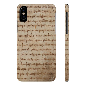 Beowulf - Case Mate Slim Phone Cases Iphone X