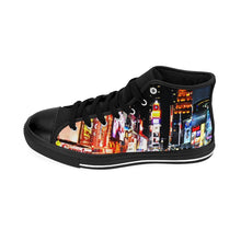 """Broadway"" - Women's High-top Sneakers - Theatre Geek Shirts & Apparel"