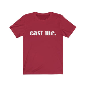 Cast Me - Unisex Jersey Short Sleeve Tee Canvas Red / Xs Men Women T-Shirt