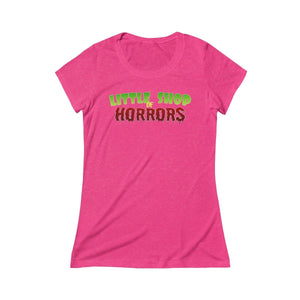 Copy Of Little Shop Of Horrors - Womens Triblend Short Sleeve Tee Berry Triblend / S Women T-Shirt