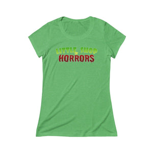 Copy Of Little Shop Of Horrors - Womens Triblend Short Sleeve Tee Green Triblend / S Women T-Shirt
