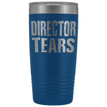 Director Tears - 20oz Stainless Steel Insulated Tumblers Blue Tumblers