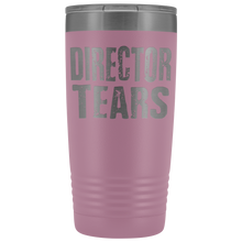 Director Tears - 20oz Stainless Steel Insulated Tumblers Light Purple Tumblers