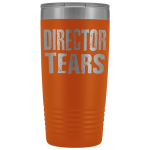 Director Tears - 20oz Stainless Steel Insulated Tumblers Orange Tumblers