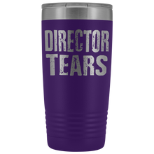 Director Tears - 20oz Stainless Steel Insulated Tumblers Purple Tumblers